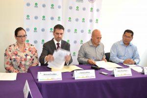 Firma de convencio entre el Observatorio y la fiscalía