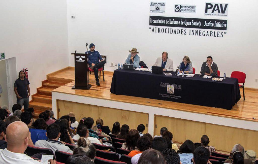 Registra Morelos atrocidades innegables