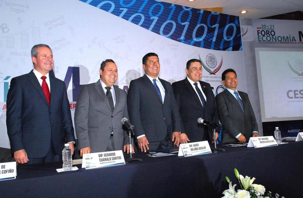 El crecimiento económico en México, es un asunto pendiente: Javier Bolaños aguilar