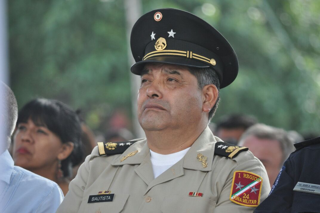 Se jubila responsable de la 24ª  Zona Militar