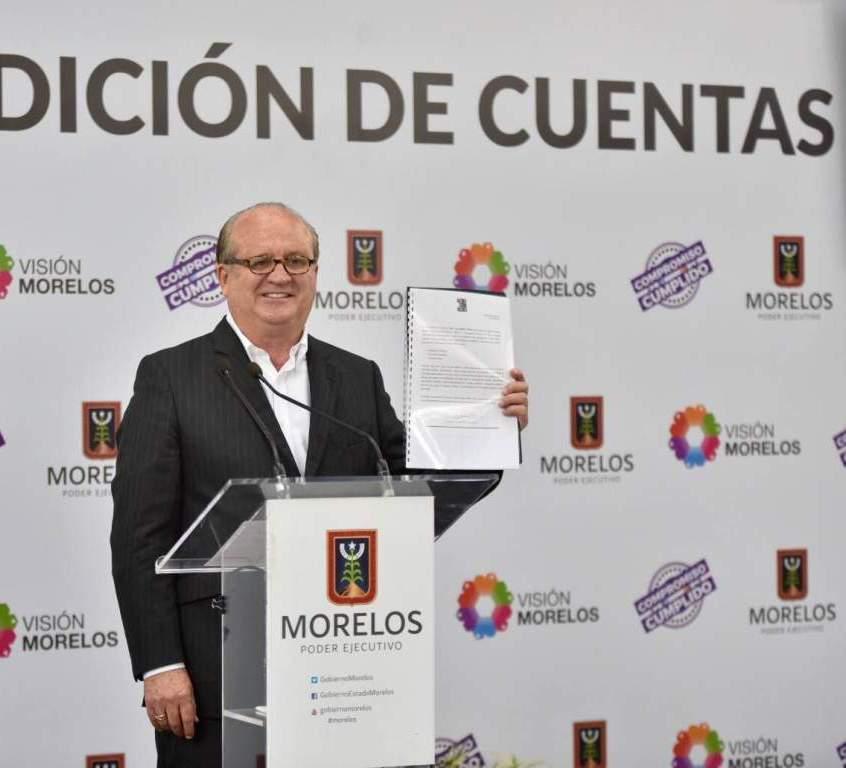 En Morelos hay finanzas sanas, transparencia y rendición de cuentas
