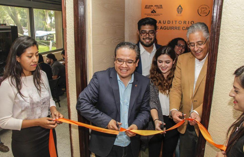 Inauguran nuevo auditorio de la Facultad de Arquitectura de la UAEM
