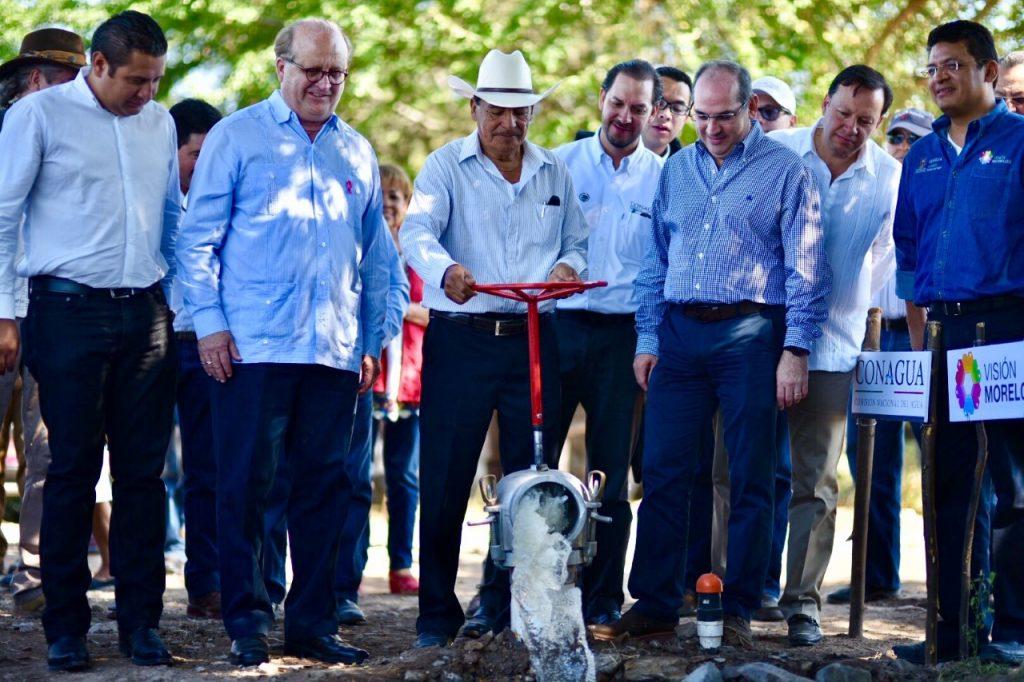 Modernizan gobierno de Morelos y Conagua sistema de riego para seis ejidos de Axochiapan