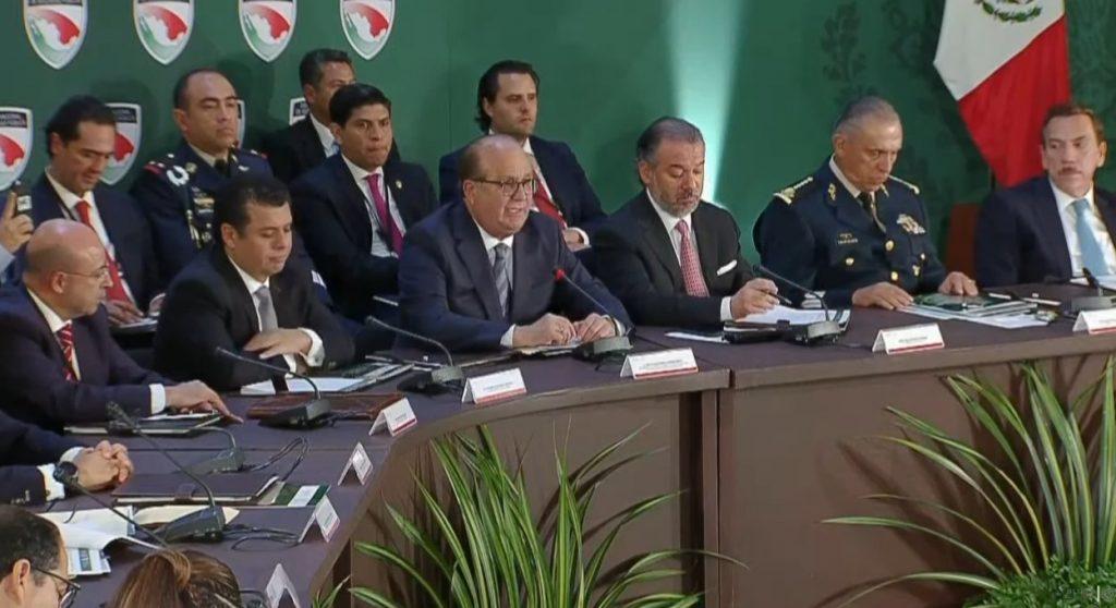 Solicita Conago marco legal para fuerzas armadas y crear policía única: Graco Ramírez