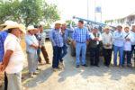 Alcalde Paco Sánchez entrega bomba para pozo de agua en beneficio de campesinos de Achichipico y Yecapixtla