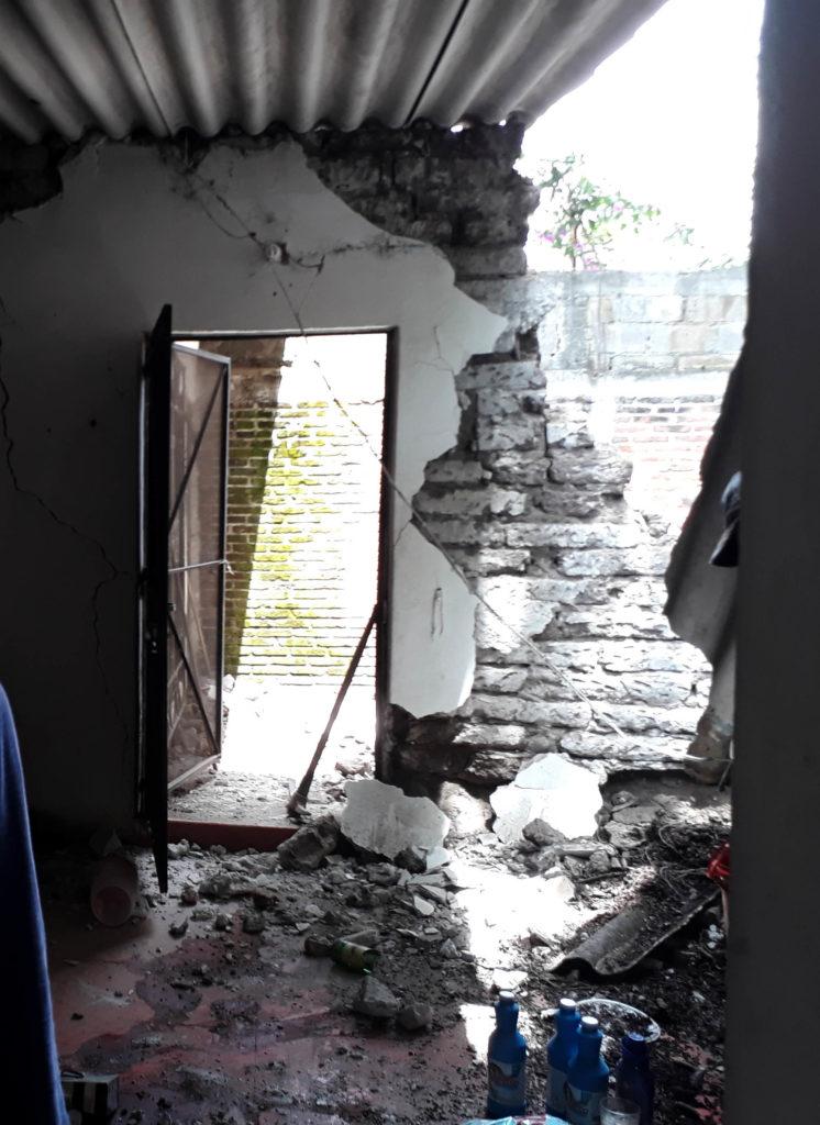Reporta PC 260 casas dañadas en Jiutepec