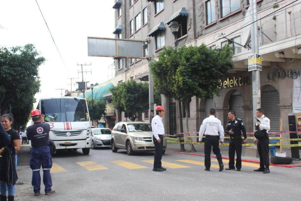 Detecta Protección Civil 200 casas con daños estructurales en Cuernavaca